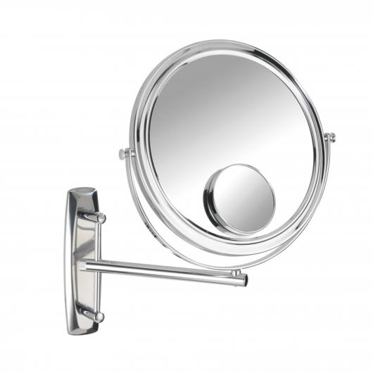 Mirroir Mural Bivona, Bras Orientable