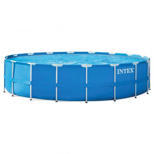 Set completo Piscina Metal Frame 549 x 122 cm Intex