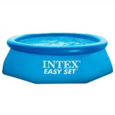 Piscina hexagonal Easy Set 244 x 76 cm con depuradora Intex