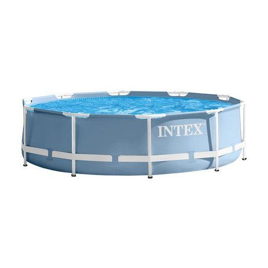 Piscina Metal Frame 366 x 76 cm Intex