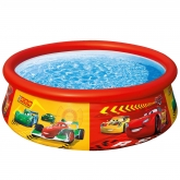 Piscina Cars com aro 183 x 51 cm Intex