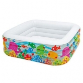 Piscina acuario 159 x 159 x 50 cm Intex