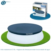 Cobertor piscina Easy Set 305 cm Intex