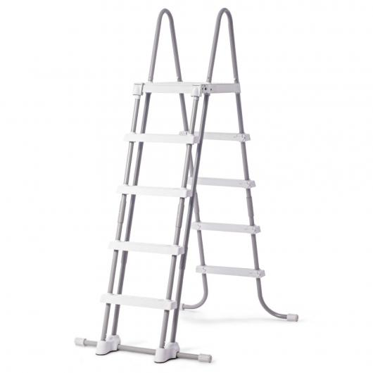 Escalera 122-132 cm altura Intex