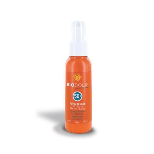 Spray solar SPF50 BioSolis, 100 ml