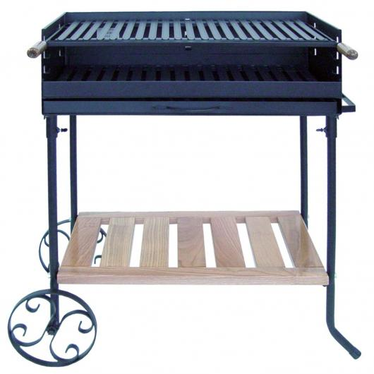 Barbecue à roues