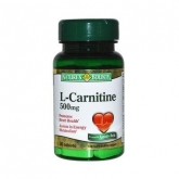 L-Carnitina 500 mg Nature's Bounty, 30 compresse