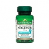 Olio di Menta 200 mg Nature's Bounty, 60 compresse