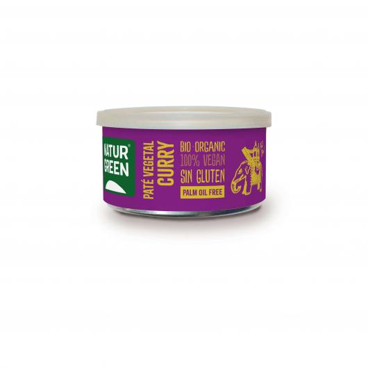 Paté Curry Naturgreen 125 g