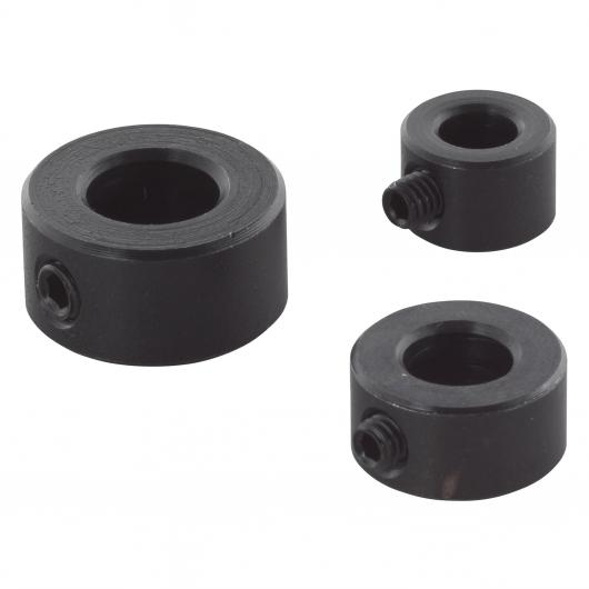 Wolfcraft 2751000 - 3 topes de profundidad para brocas Ø 6, 8, 10 mm