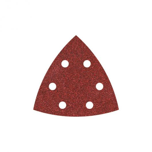 Wolfcraft 1850000 - 5 feuilles abrasives auto-agrippantes