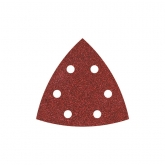 Wolfcraft 1857000 - 20 feuilles abrasives auto-agrippantes