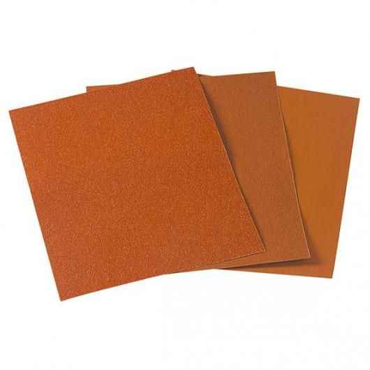 1 feuille abrasive papier corindon 230 x 280 mm Wolfcraft