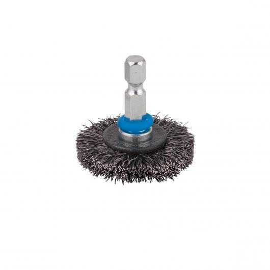 1 brosse métal circulaire Wolfcraft