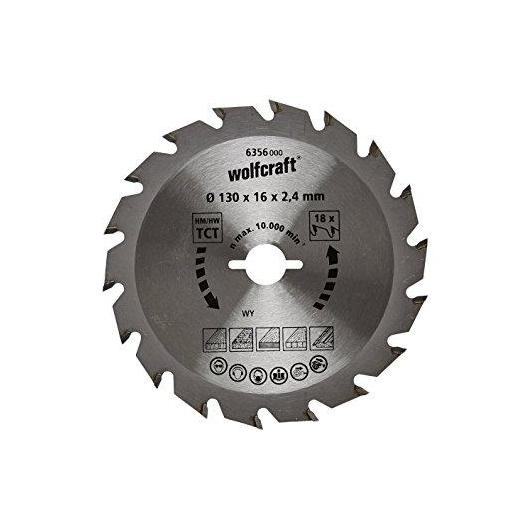 1 disco de sierra circular 2,4mm Wolfcraft