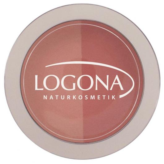 Colorete Duo Beige + Terracotta Logona, 10g