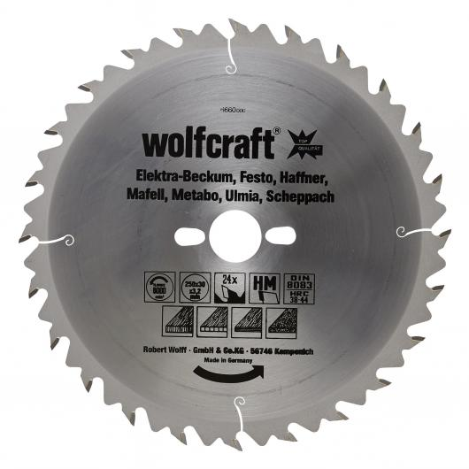 1 disco de sierra circular ø 30 mm Wolfcraft
