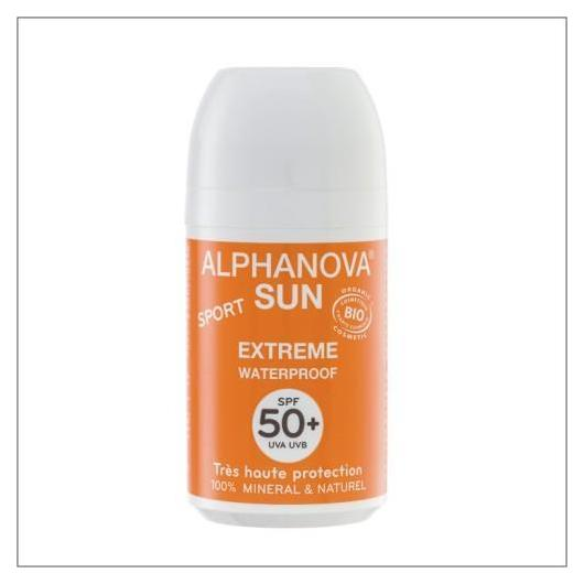 Protection Solaire Roll-On Sport SPF 50+ Alphanova 50 mL