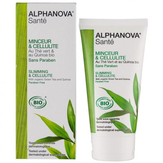 Crema reductora & celulitis Alphanova 150 ml.