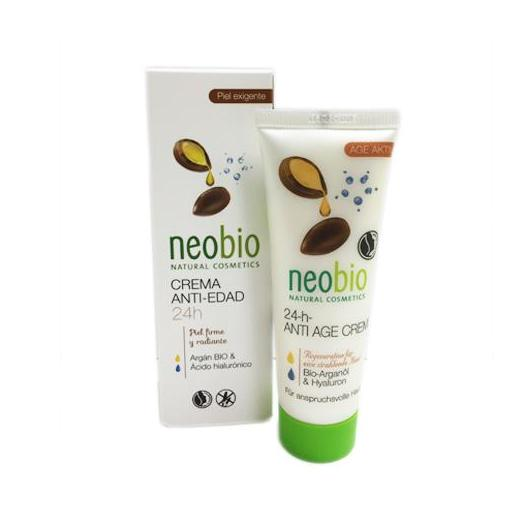Crema Anti edad 24 horas Neobio, 50ml