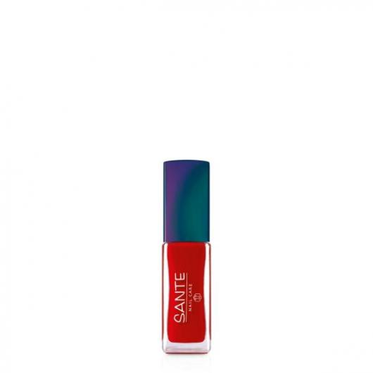 Smalto per unghie Poppy red nº22 Sante, 7ml