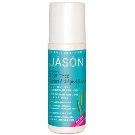 Desodorante roll-on Árbol del té Jason, 89 ml