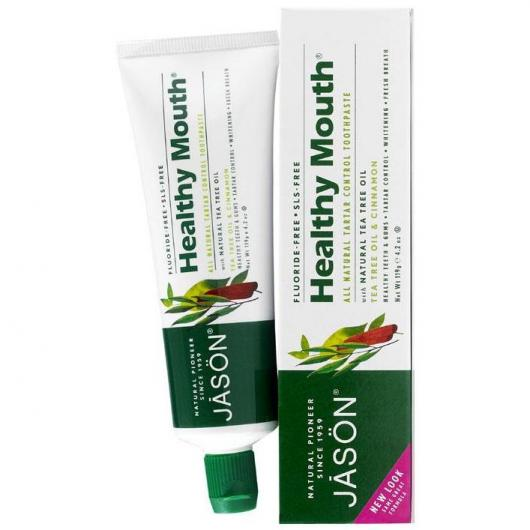 Pâte Dentifrice Healthy Mouth Arbre à Thé Jason, 119 g