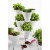 Macetero apilable Ivy planter, 1 bandeja