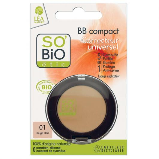 BB Compact 5 in 1 Correttore SO'BIO ÉTIC 3,8 g