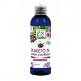 Lozione anti-pidocchi Pludepoux(con pettine) SO'BIO étic 100 ml.