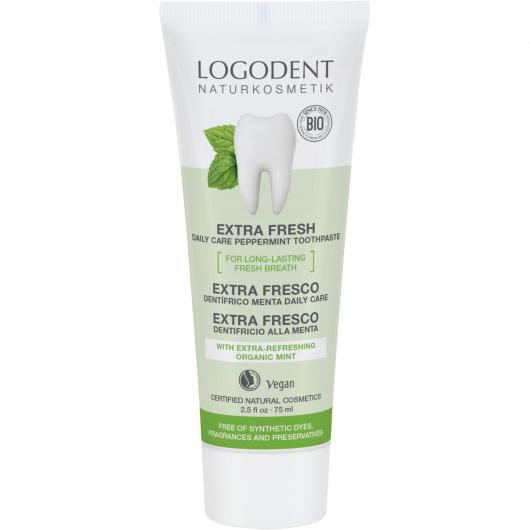 Dentifricio Menta Bio Daily Care Logona, 75 ml