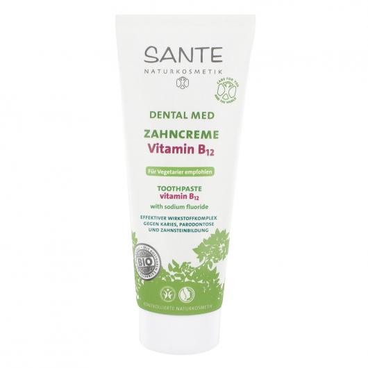 Dentífrico Vitamina B12 Sante, 75 ml