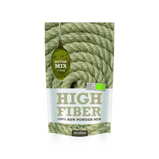 Mix High Fiber in polvere Bio Purasana 250 gr