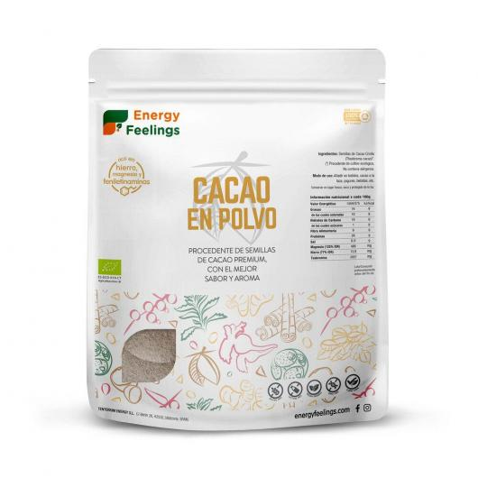 Cacao BIO en polvo Energy Fruits