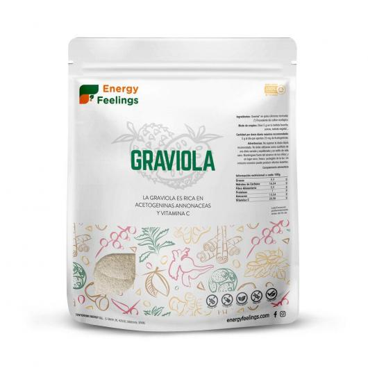 Graviola BIO en  polvo Energy Fruits