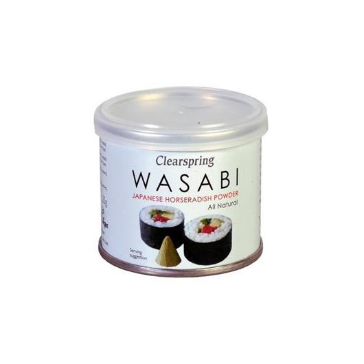 Wasabi en poudre Clearspring, 25 g