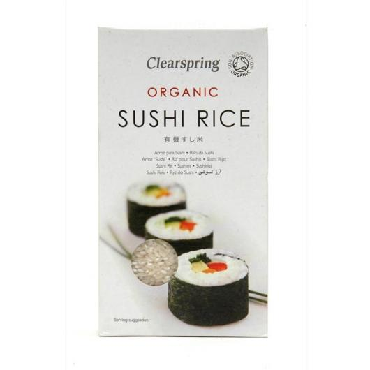 Arroz orgânico para Sushi Clearspring, 500 gr