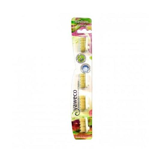 Recambios Cepillo Dent. Nature Medium 4uds Yaweco