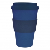 Vaso de Bambú Deep Blue ecoffee Alternativa3, 400 ml