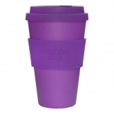 Vaso de Bambú Purple Reign ecoffee Alternativa 3, 400 ml