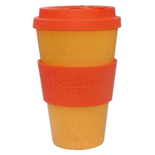 Vaso de Bambú Orangery ecoffee Alternativa3, 400 ml
