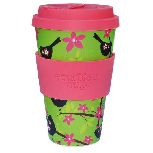 Vaso de Bambú Widdlebirdy ecoffee Alternativa 3, 400 ml