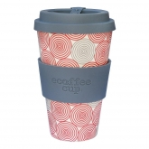 Vaso de Bambú Swirl ecoffeee Alternativa3, 400 ML