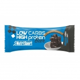 Barretta Low Carbs Brownie Nutrisport, 16 unitá