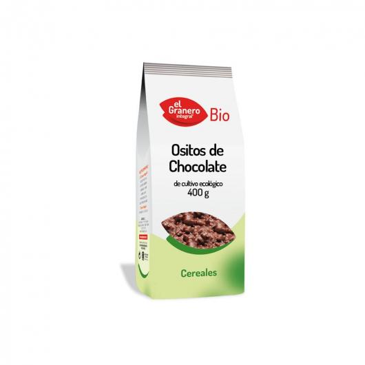 Ositos de Chocolate bio El Granero Integral, 400 g