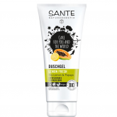 Gel de ducha Limão, Papaya e Aloe Vera Fresh Sante, 200 ml