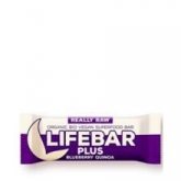 Barretta Lifebar Plus Bio ai mirtilli e quinoa, Lifefood 47g