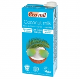 Bebida Coco con Calcio Eco Low Sugar Ecomil, 1L