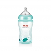Biberón verde Natural Touch Nuby 330 ml 3+ meses