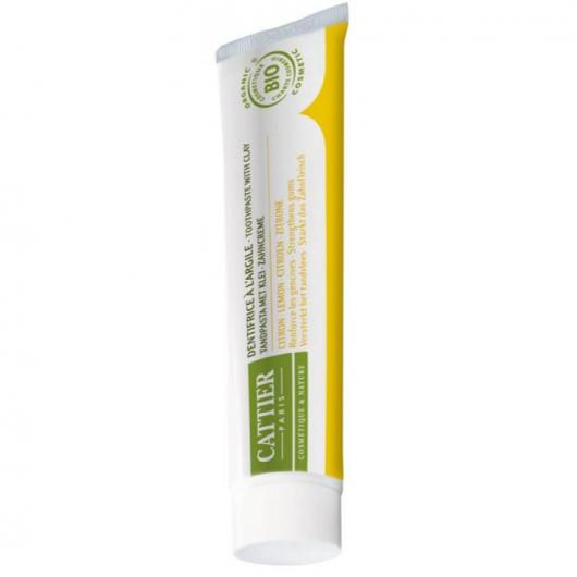 Dentifricio dentargile al limone Cattier, 75ml